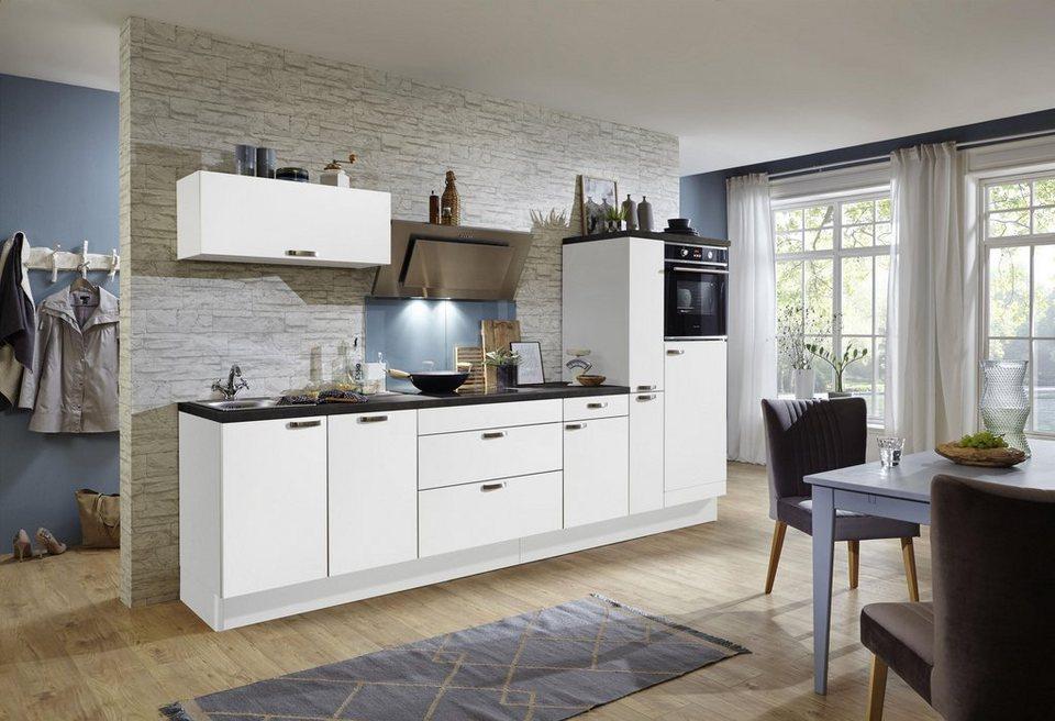 optifit cara k chenzeile ohne e ger te breite 320 cm online kaufen otto. Black Bedroom Furniture Sets. Home Design Ideas