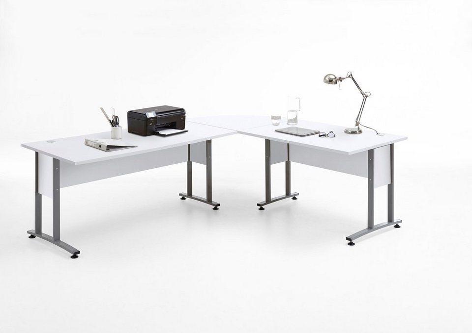 Fmd Schreibtisch Winkelkombination Calvi Maße Bth 24020075
