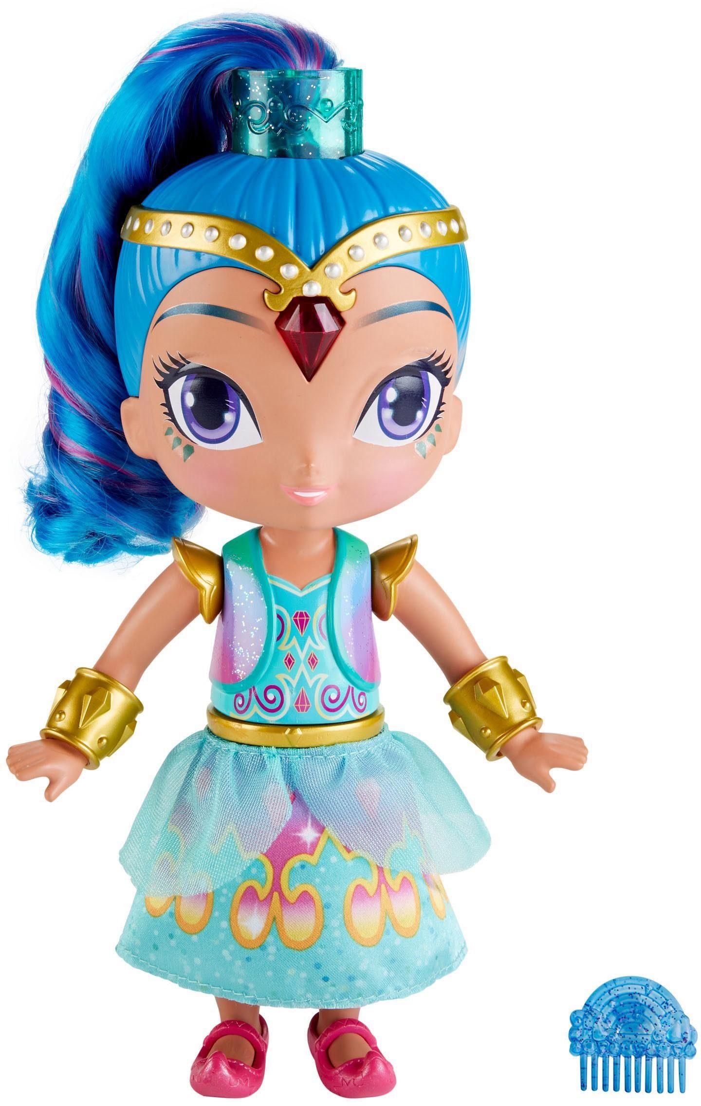 Mattel Puppe mit Sound- und Lichteffekten, »Shimmer & Shine 2-in-1 Verwandlungskleid Shine«