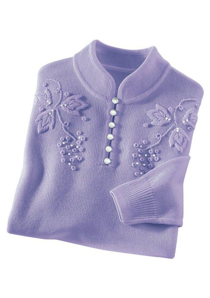 Pullover in flieder