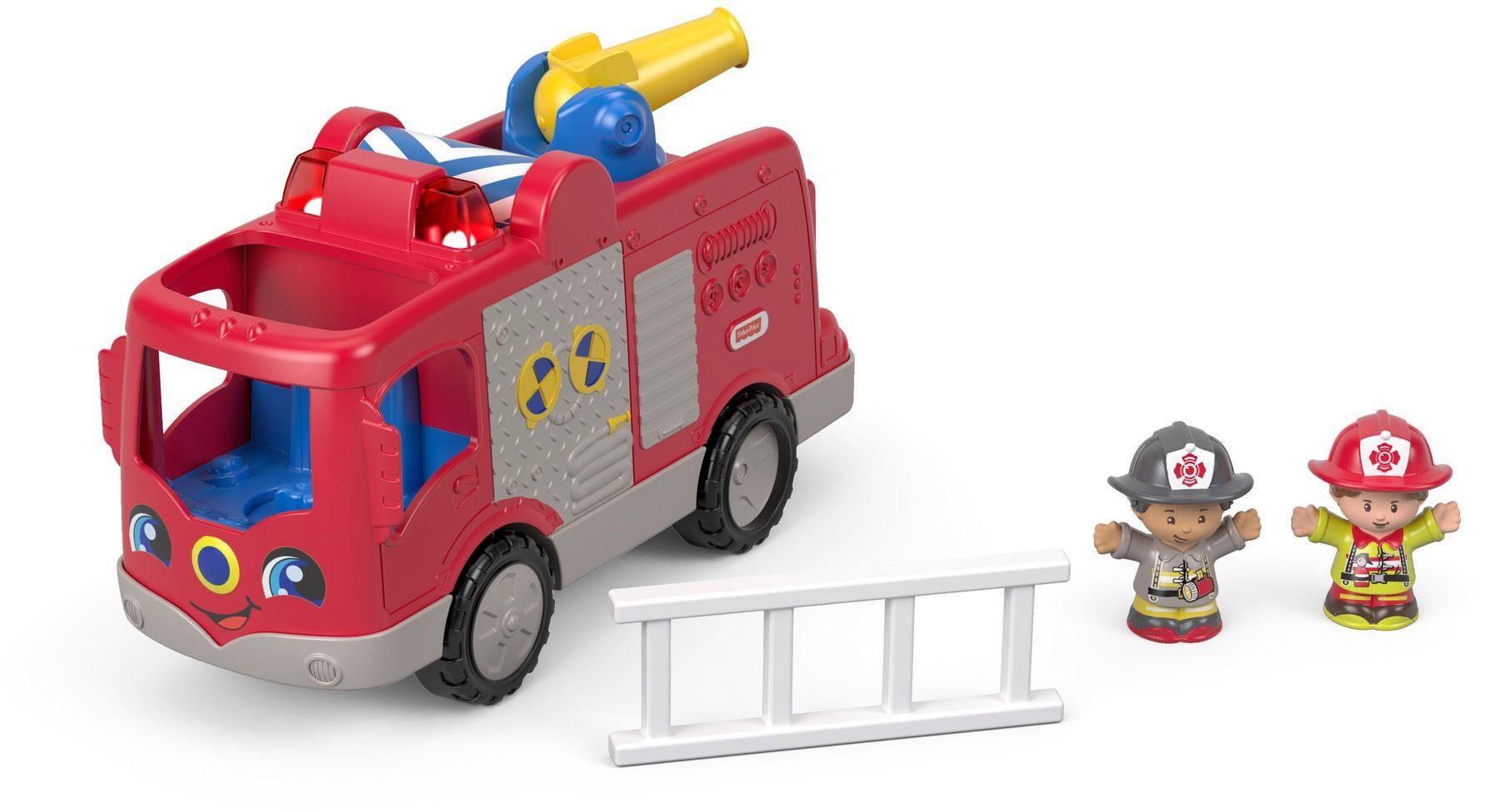 Fisher Price Spielauto mit Sound, »Little People Feuerwehr«