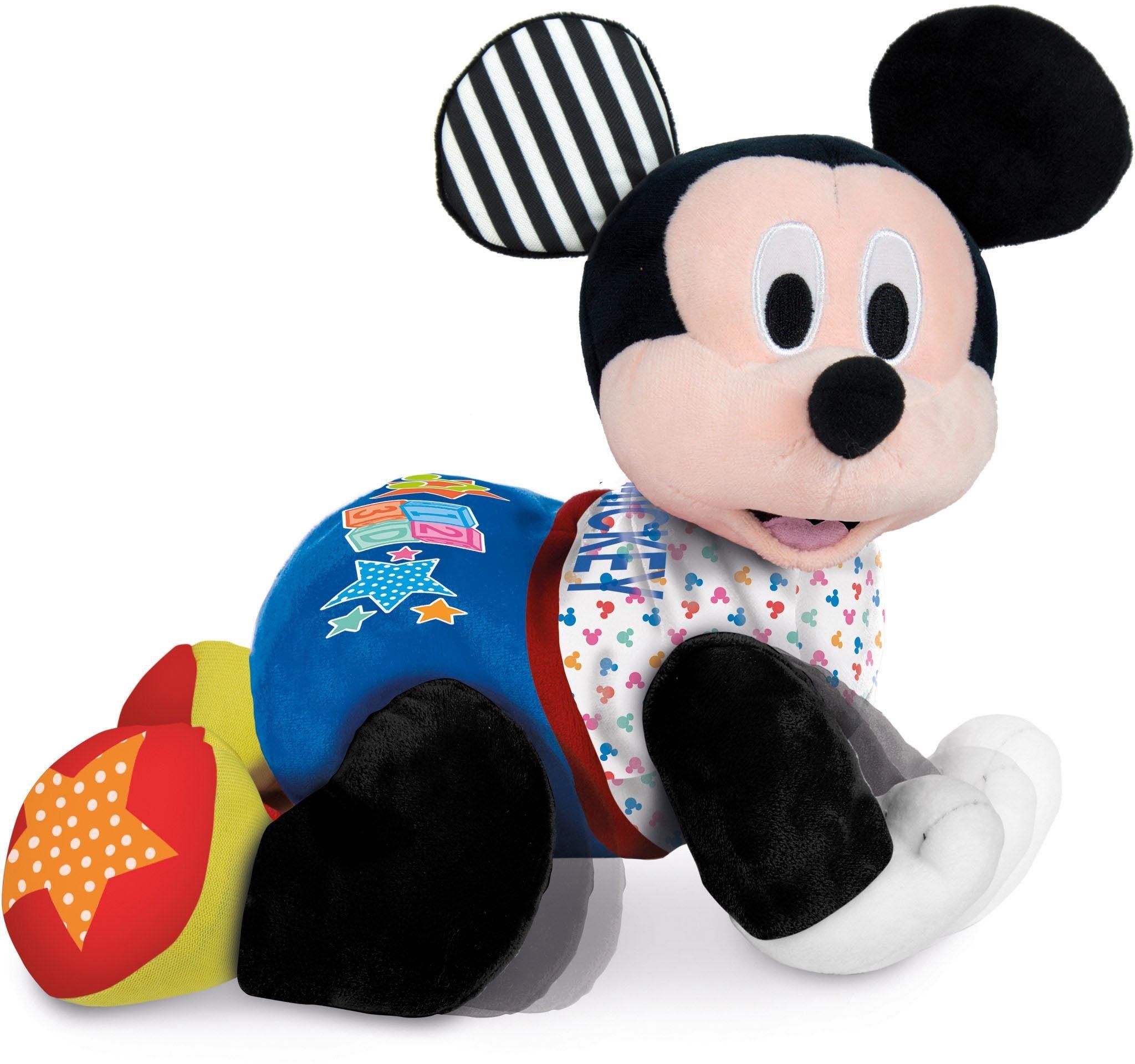 Clementoni Elektronisches Plüschtier mit Soundeffekten, »Baby, Krabbelnder Baby Mickey«