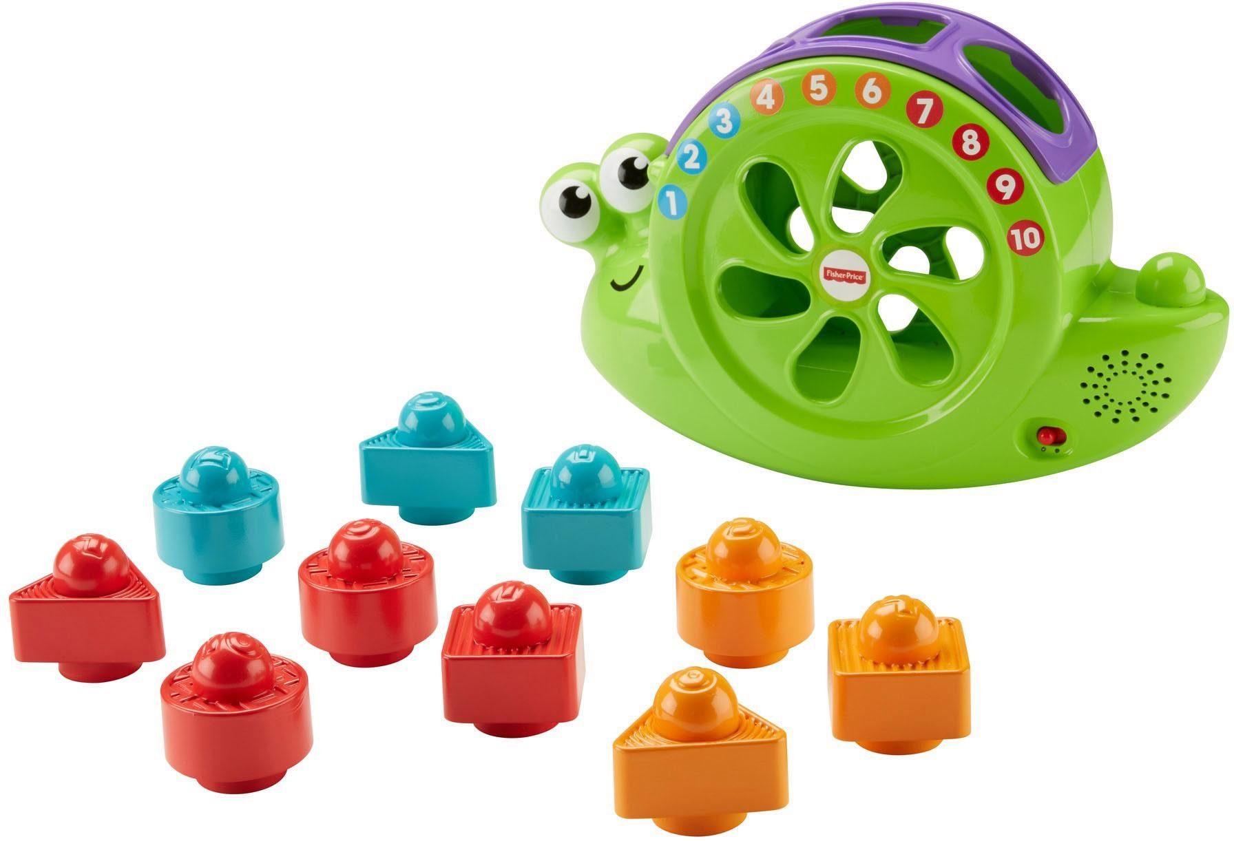 Fisher Price Lernspielzeug, »Babys Musikschnecke«