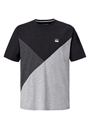 Herren Jan Vanderstorm T-Shirt WERNHER grau | 04056916313235