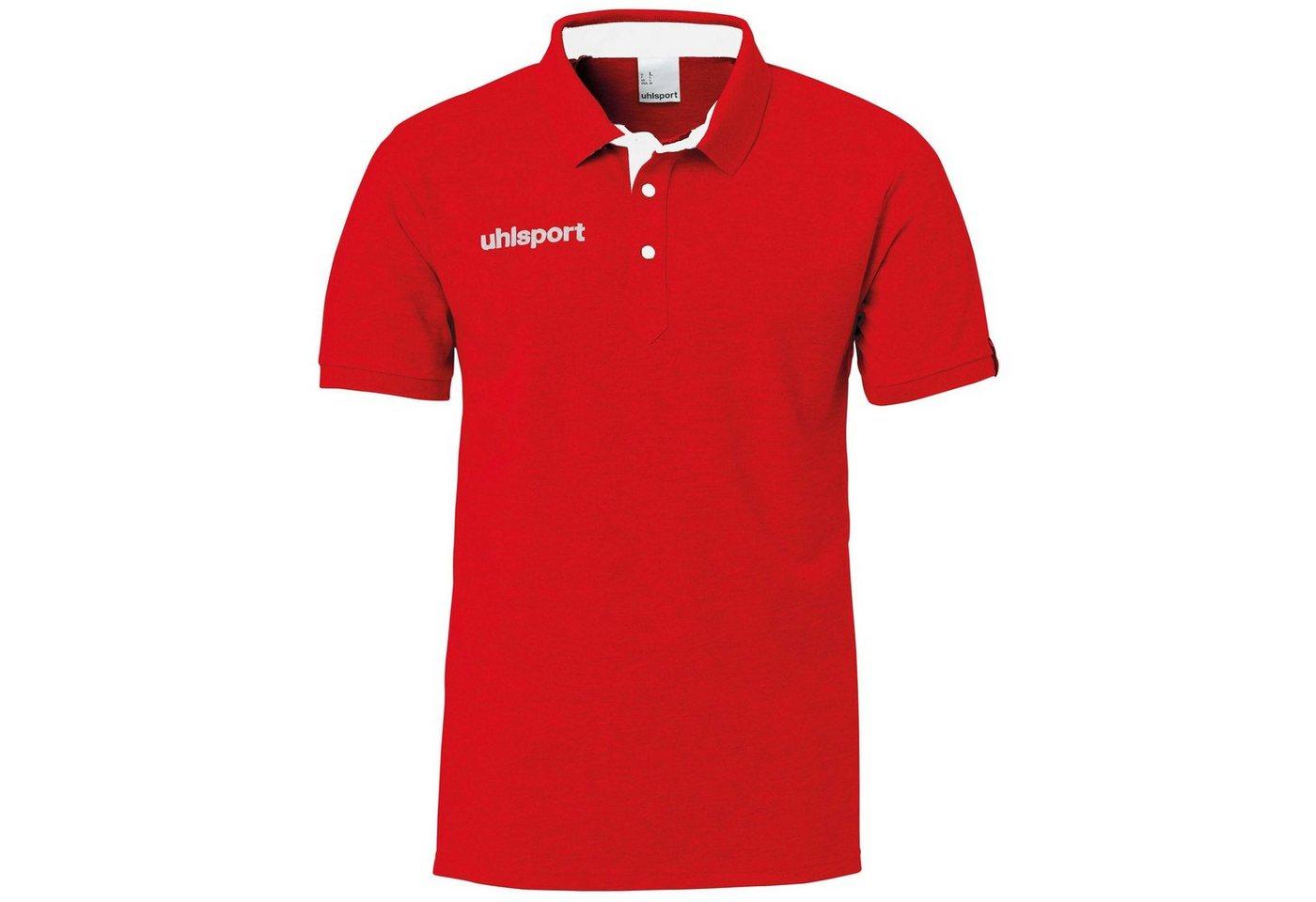 Uhlsport Essential Prime Poloshirt Herren | Sportbekleidung > Sportshirts > Poloshirts | Rot | Uhlsport