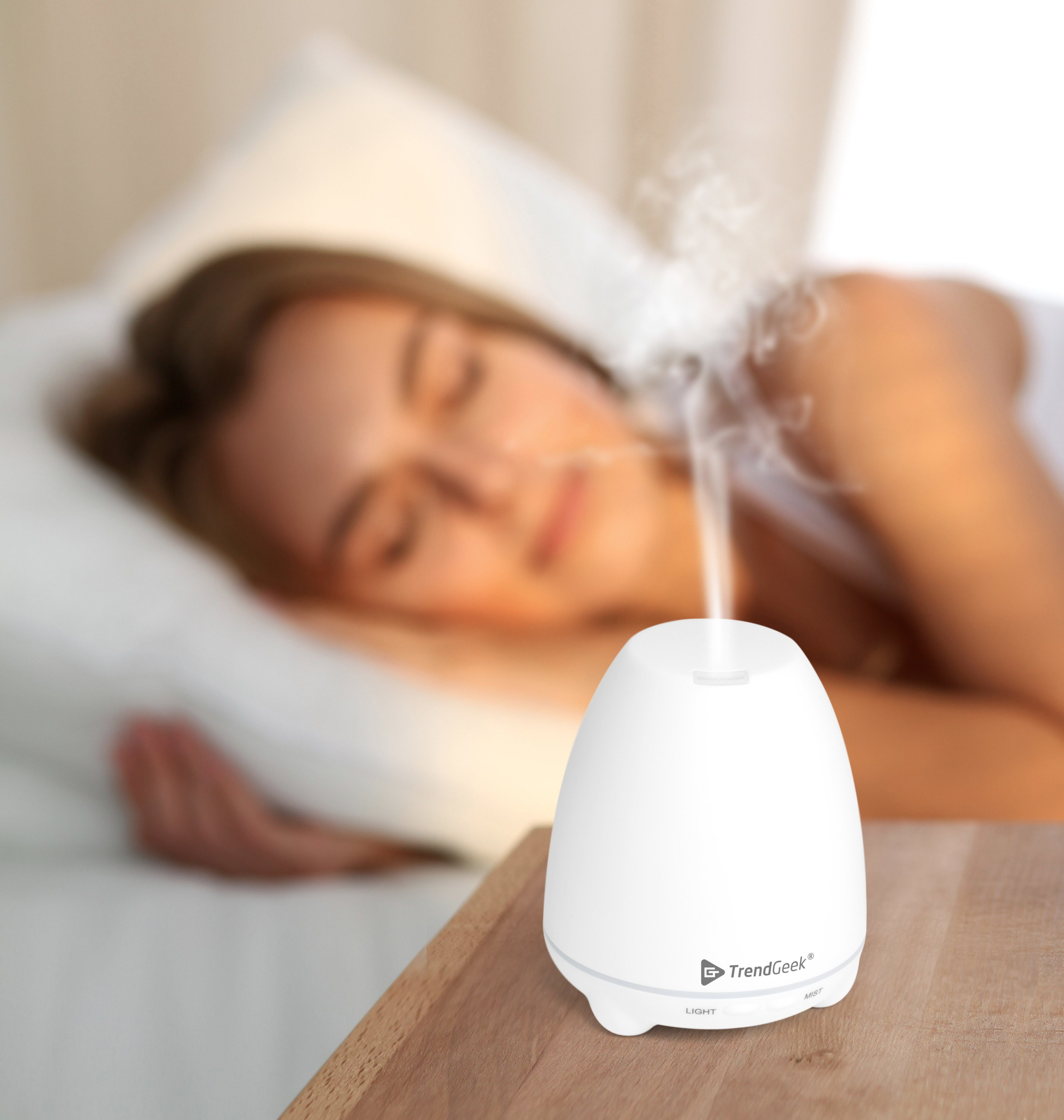 Technaxx Luftbefeuchter »TrendGeek LED Aroma Diffuser Deko TG-27«