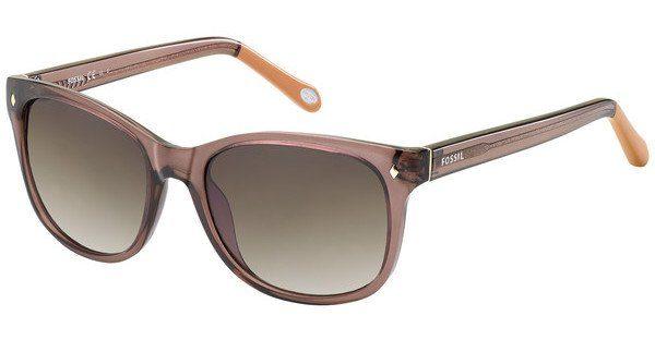 Fossil Damen Sonnenbrille » FOS 3006/S«, braun, NXW/Y6 - braun/braun