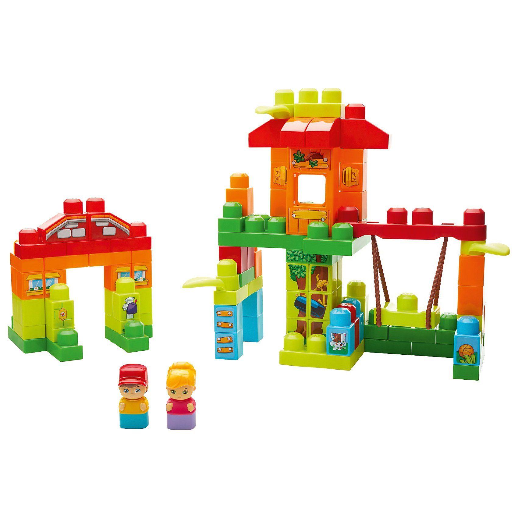 Mattel® Mega Bloks Baumhaus-Spielplatz (120 Teile)