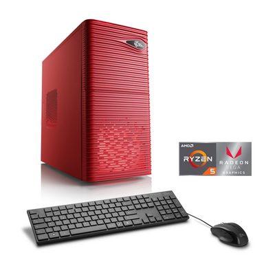 CSL Multimedia PC | AMD Ryzen 5 2400G | Vega 11 Grafik | 8 GB DDR4 »Sprint T8922 Windows 10 Home«