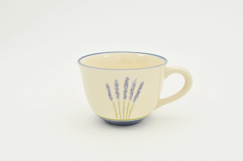 Zeller Keramik Cappuccino Obertasse »Fleur de Provence«