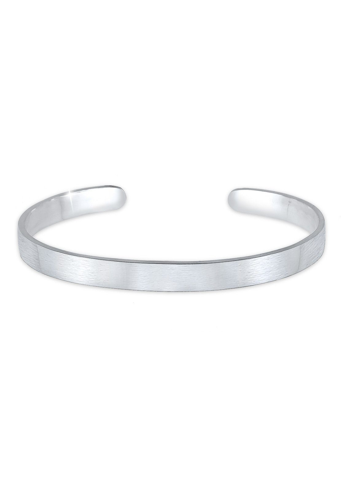 Paulo Fanello Armband »Basic Bangle matt 925 Sterling Silber«