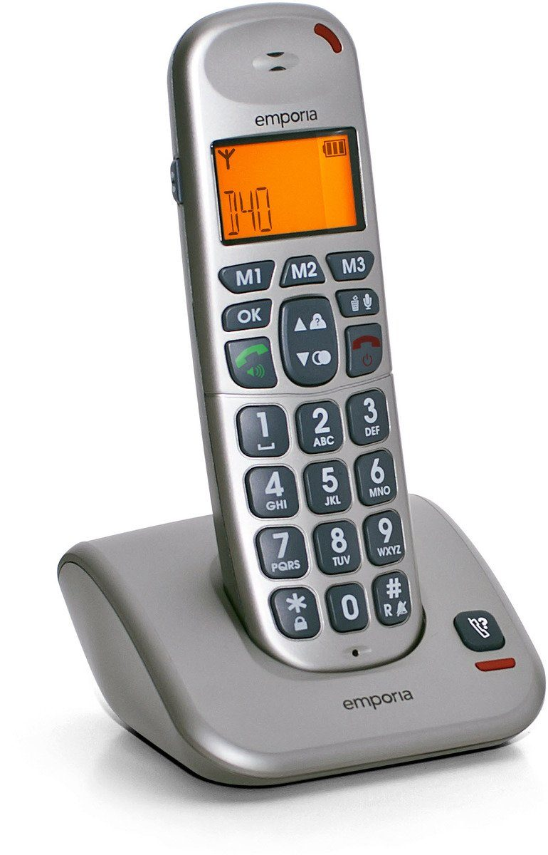 Emporia Telefon analog schnurlos »D40«