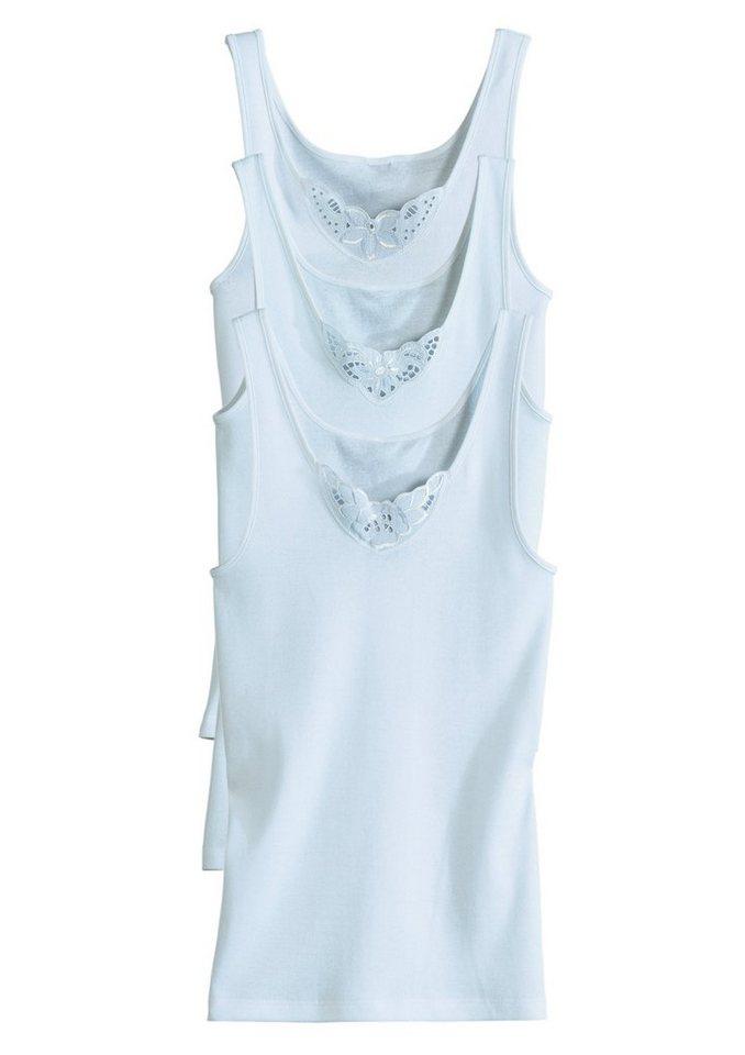 Achselhemd, Con-Ta (3 Stck.) in weiß