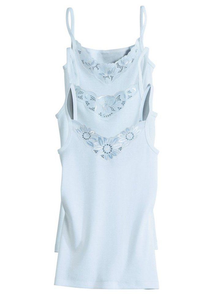 Hemd, Con-Ta (3 Stück) in weiß
