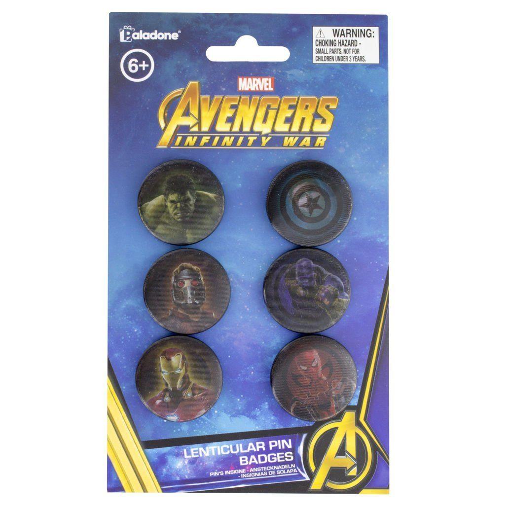 Paladone Fanartikel »Marvel Infinity War Lentikular Anstecker«