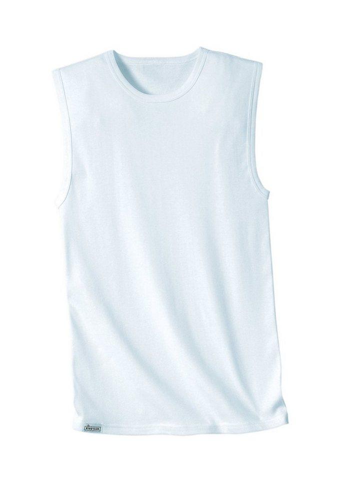 Achsel-Shirt, Kings Club (3 Stck.) in weiß
