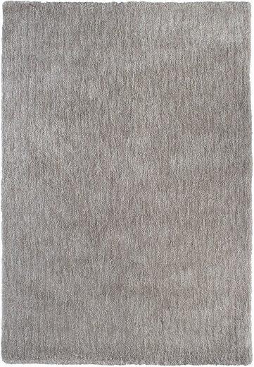 Hochflor-Teppich »Touch«, Barbara Becker, rechteckig, Höhe 27 mm, handgetuftet, besonders weich durch Microfaser, Wohnzimmer
