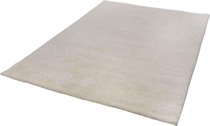 Wollteppich »Taza Royal«, THEKO, rechteckig, Höhe 28 mm, echter Berberteppich, reine Schurwolle, handgeknüpft, Wohnzimmer