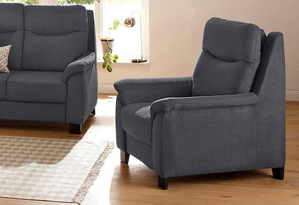 home affaire sessel bocca mit federkern incl. Black Bedroom Furniture Sets. Home Design Ideas