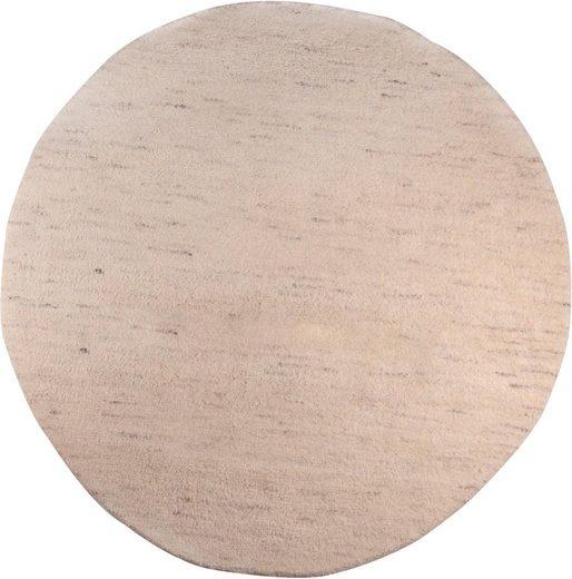 Wollteppich »Taza Royal«, THEKO, rund, Höhe 24 mm