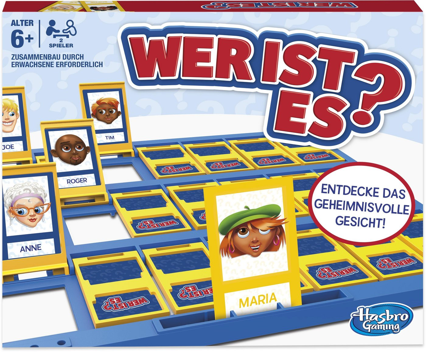 Image of Hasbro Spiel, »Wer ist es?«