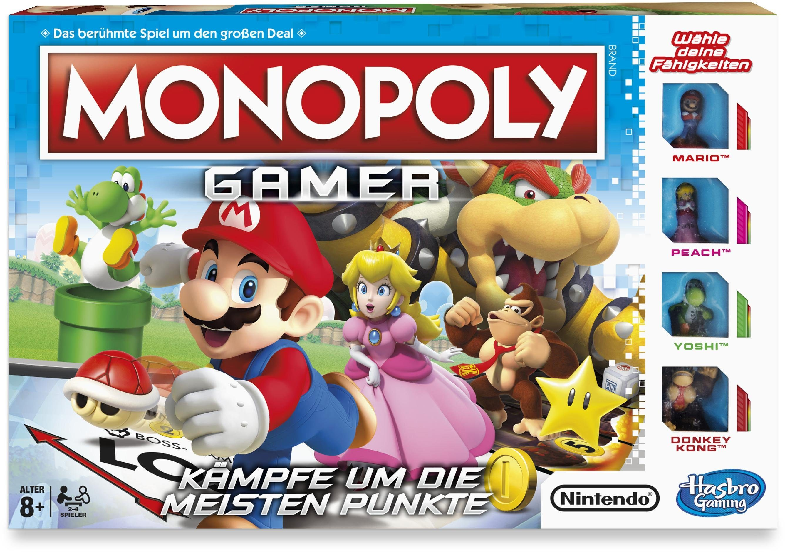 Hasbro Spiel, »Monopoly Gamer«