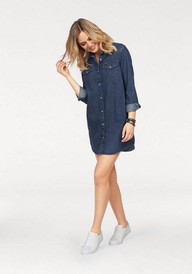 Wrangler Jeanskleid im kultigem Western-Style