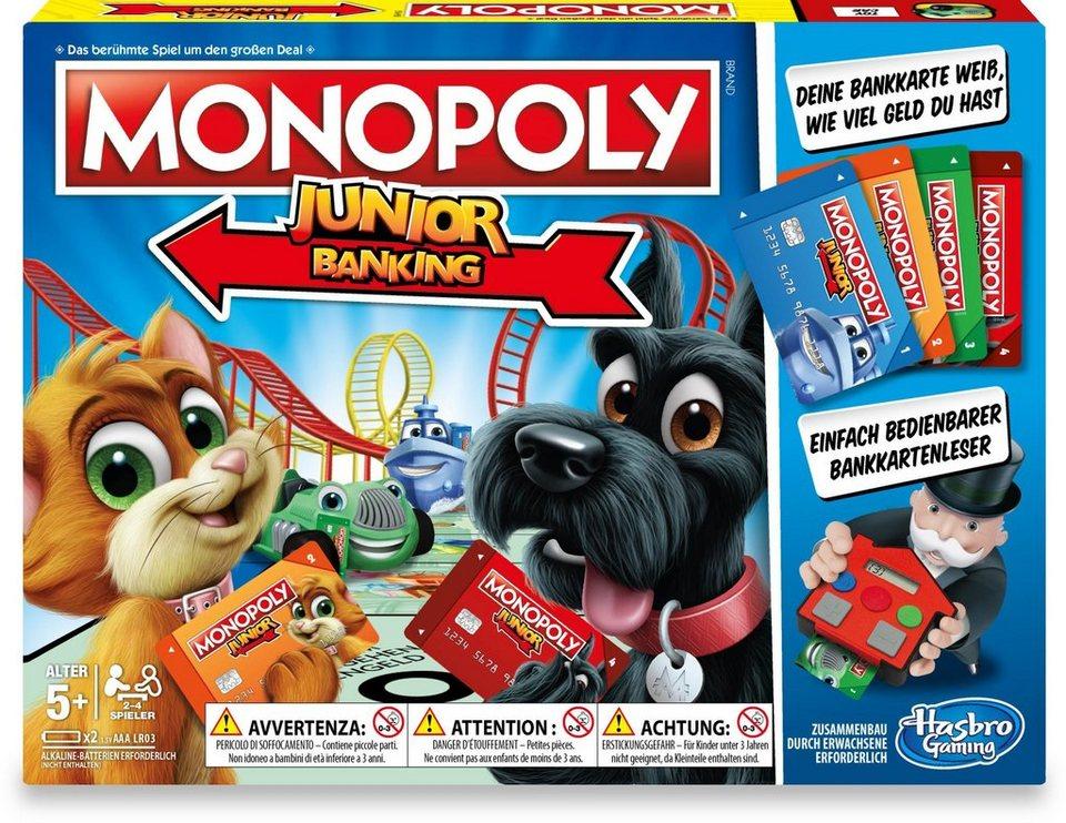 Hasbro Kinderspiel,  Monopoly Junior Banking