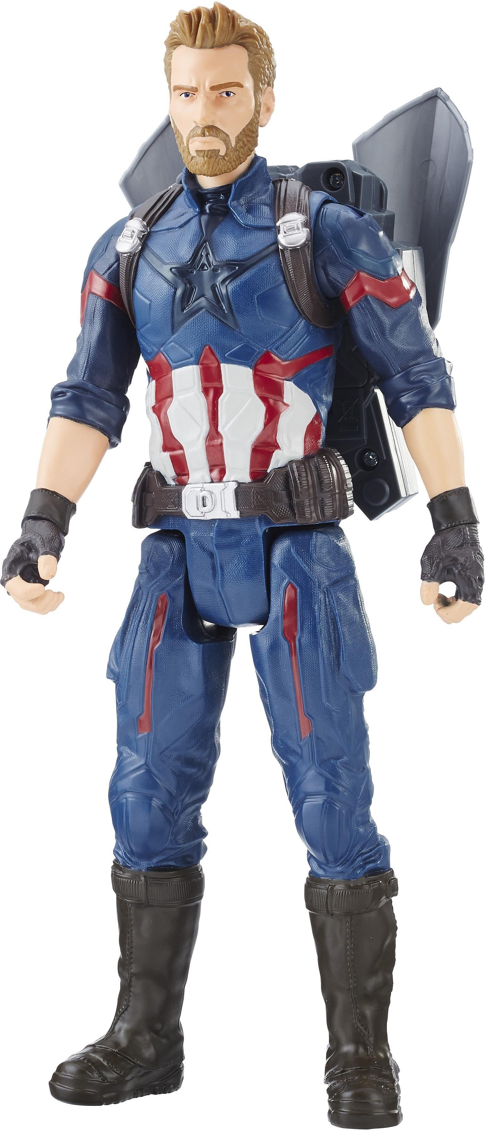 Hasbro Spielfigur mit Sound, »Marvel Avengers Titan Hero Power FX, Captain America«
