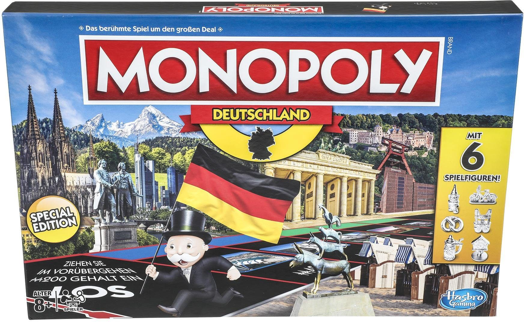 Hasbro Gesellschaftsspiel, »Monopoly Deutschland«