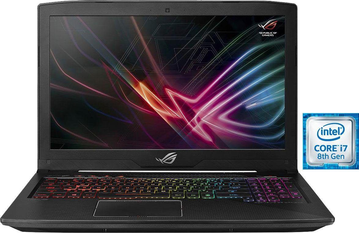 Asus ROG Strix GL503GE SCAR Gaming-Notebook (39,6 cm/15,6 Zoll, Intel Core i7, 1000 GB HDD, 128 GB SSD)
