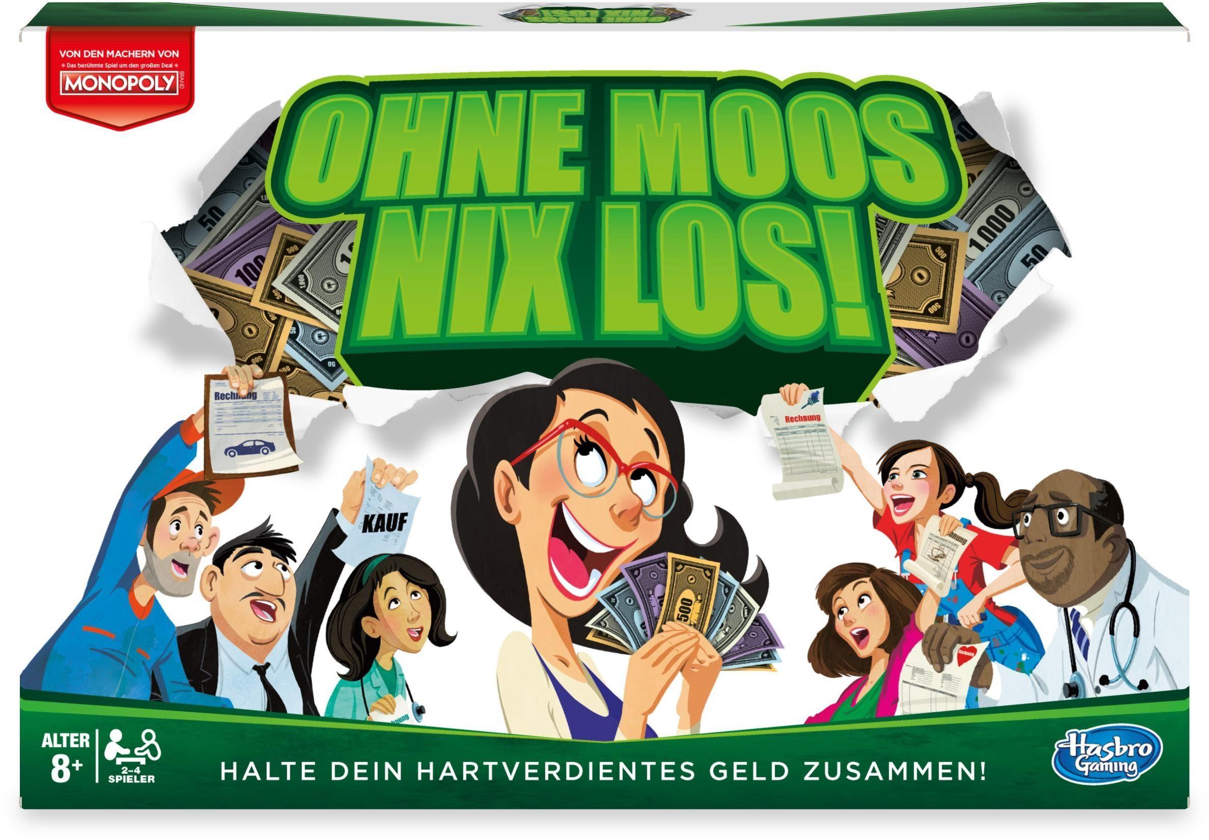 Hasbro Gesellschaftsspiel, »Ohne Moos Nix Los«