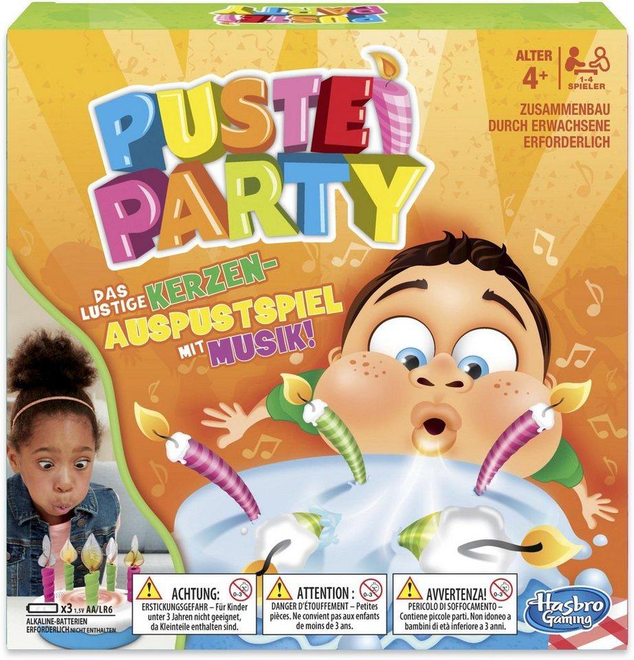Image of Hasbro E0887100 - Puste Party, Party-Spiel, Geburtstags-Spiel