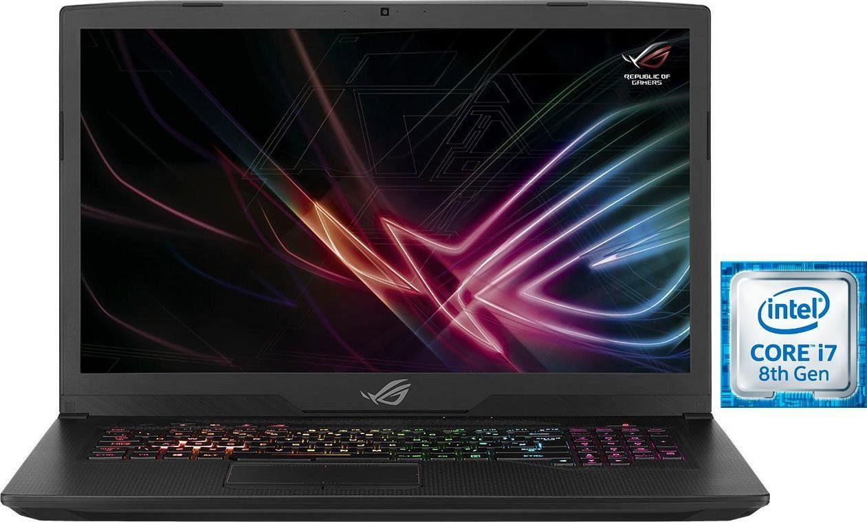 Asus ROG Strix GL703GS SCAR Notebook (43,9 cm/17,3 Zoll, Intel Core i7, GeForce, 1000 GB HDD, 512 GB SSD)