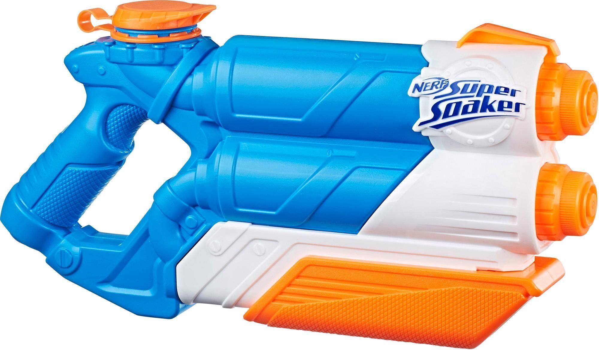 Hasbro Wasserpistole, »Nerf Super Soaker Twin Tide«
