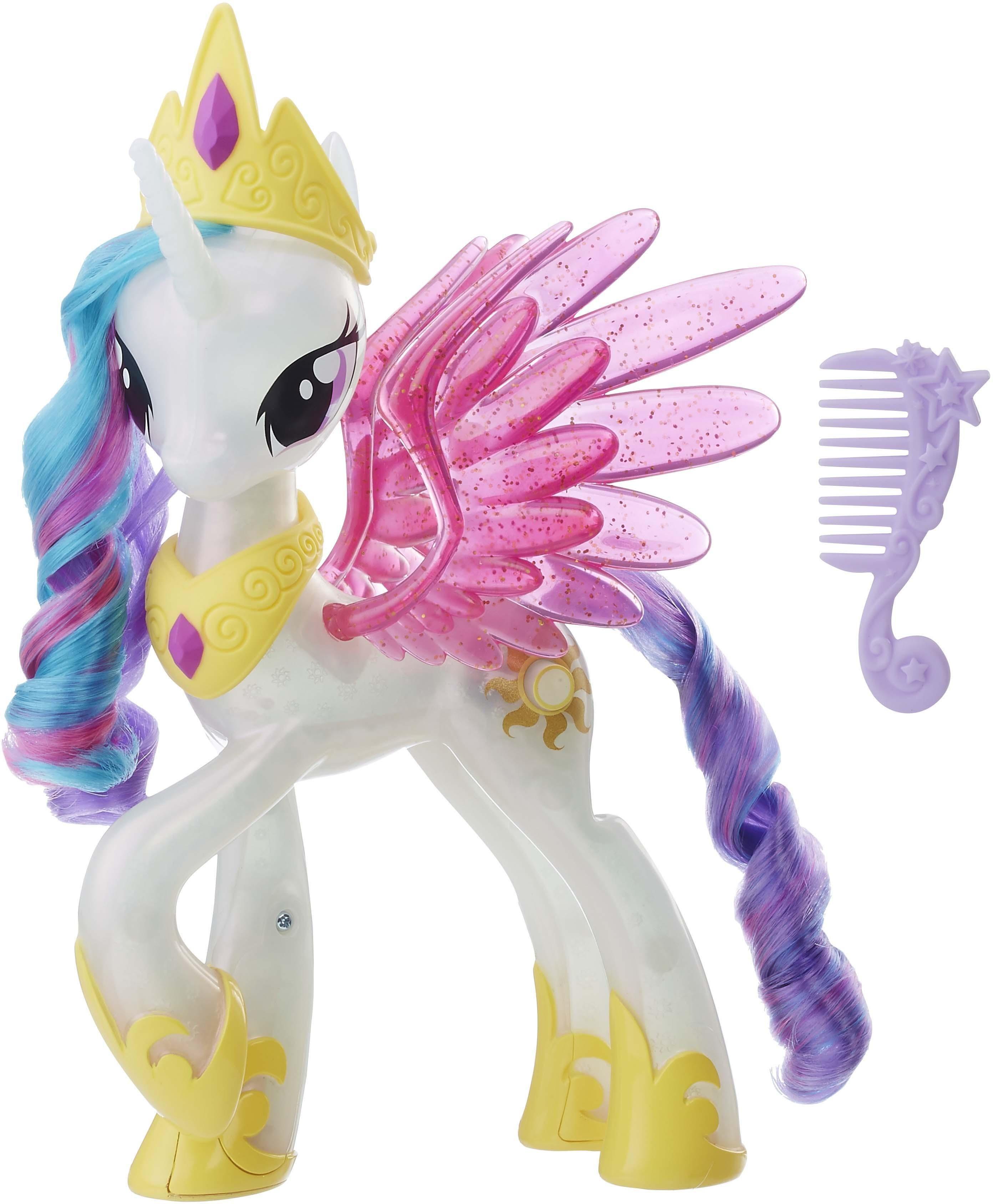 Hasbro Spielfigur mit Lichteffekt, »My Little Pony, Leuchtzauber Prinzessin Celestia«