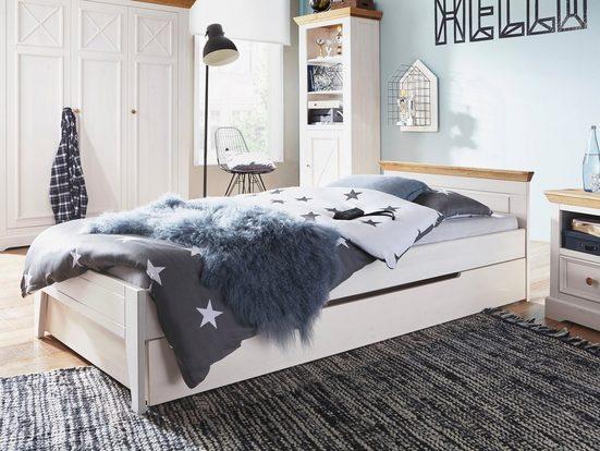 Premium collection by Home affaire Bettschubkasten »Kim«, aus Massivholz