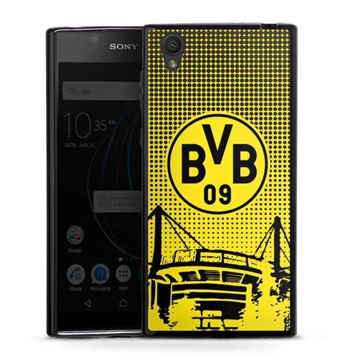 DeinDesign Handyhülle »BVB Dots« Sony Xperia L1, Hülle Stadion BVB Borussia Dortmund