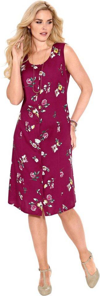 Damen Classic Basics Kleid mit durchgängiger Knopfleiste vorne  | 08902823235862
