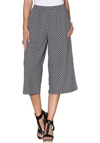 Юбка-брюки с bequemem широкая талия