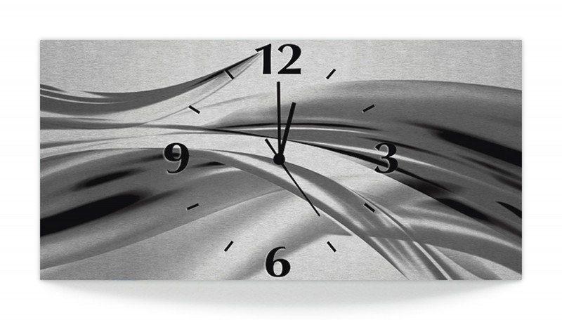 Funk Artland 3mm »2jennSchöne Oder Wanduhr Aus Alu Quarzuhr Metallic Welle KaufenOtto Online Graue Abstrakt«Analoge WHD2IE9