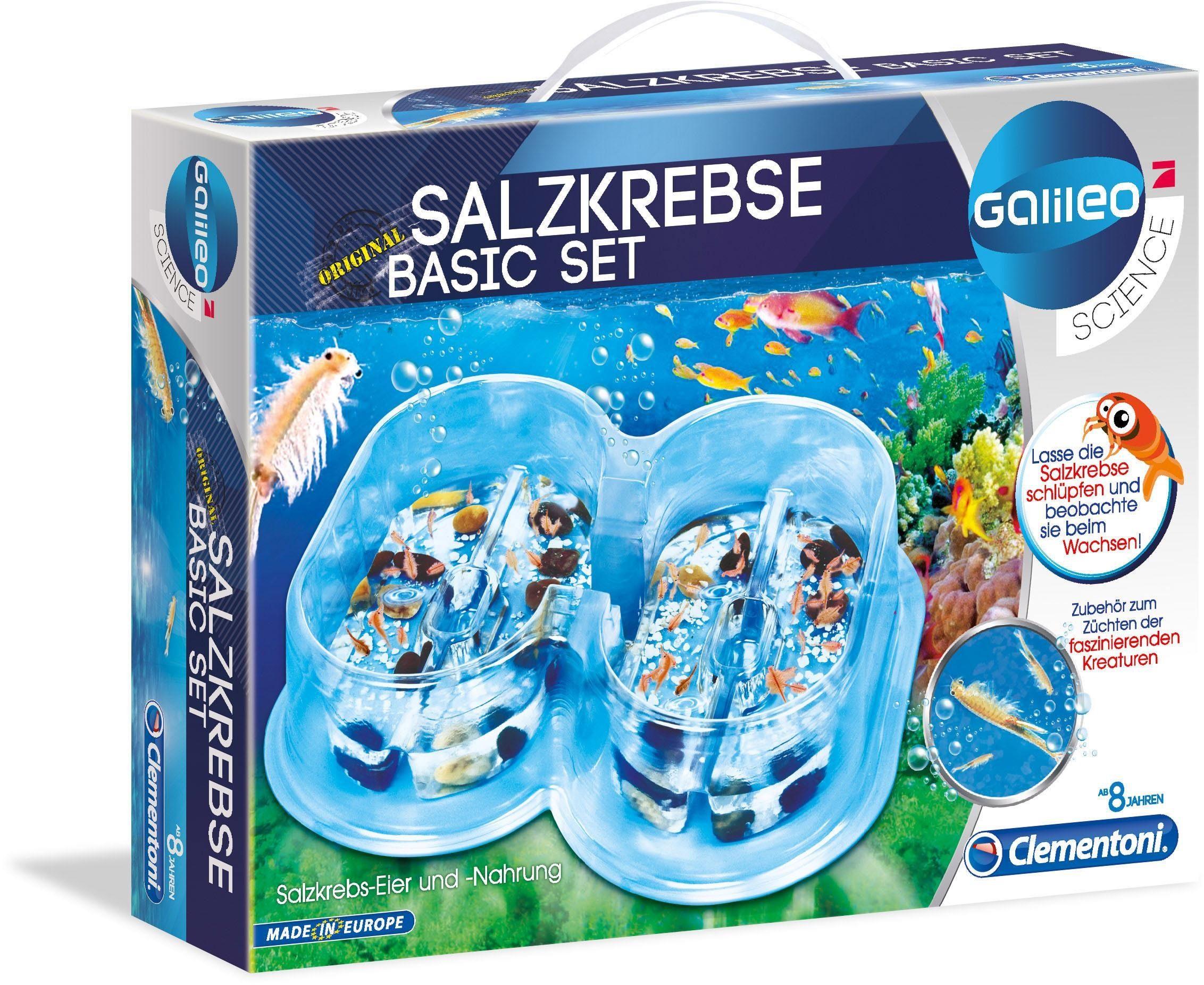 Experimentier-Set, »Galileo - Salzkrebse Basis Set«, Clementoni