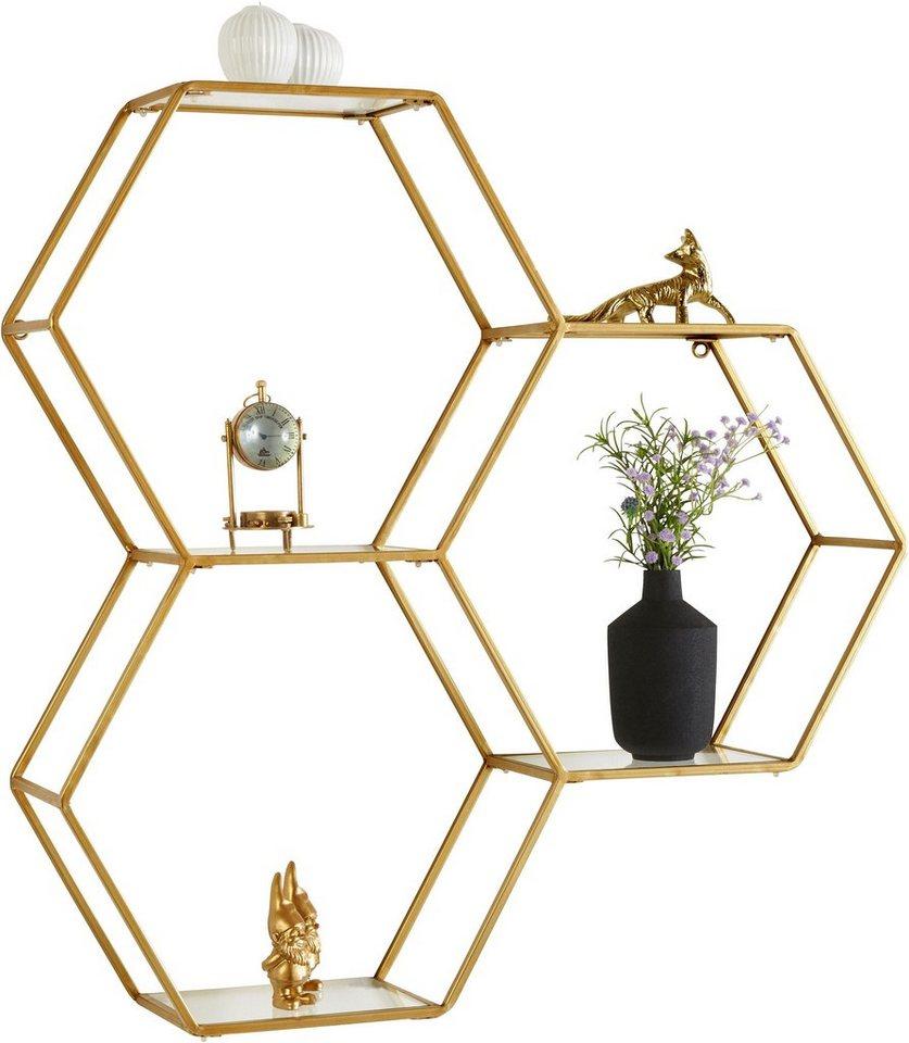 leonique wandregal aus metall online kaufen otto. Black Bedroom Furniture Sets. Home Design Ideas