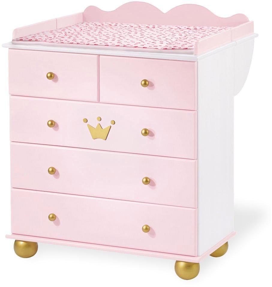 pinolino wickelkommode prinzessin karolin otto. Black Bedroom Furniture Sets. Home Design Ideas