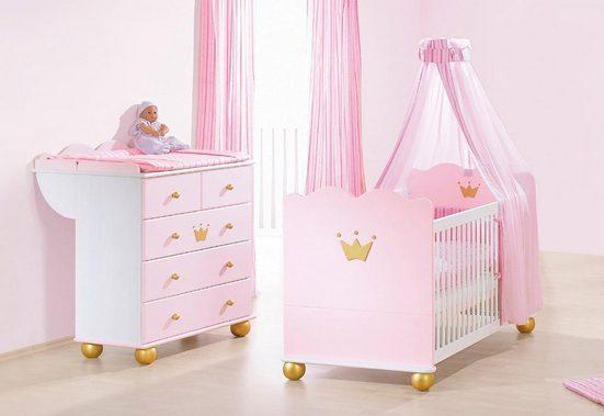 Pinolino Babyzimmer-Set (2-tlg.), Sparset, »Prinzessin Karolin«