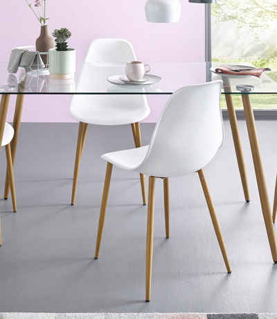 Fesselnd Stühle, Kunststoffschale (2 Oder 4 Stück)