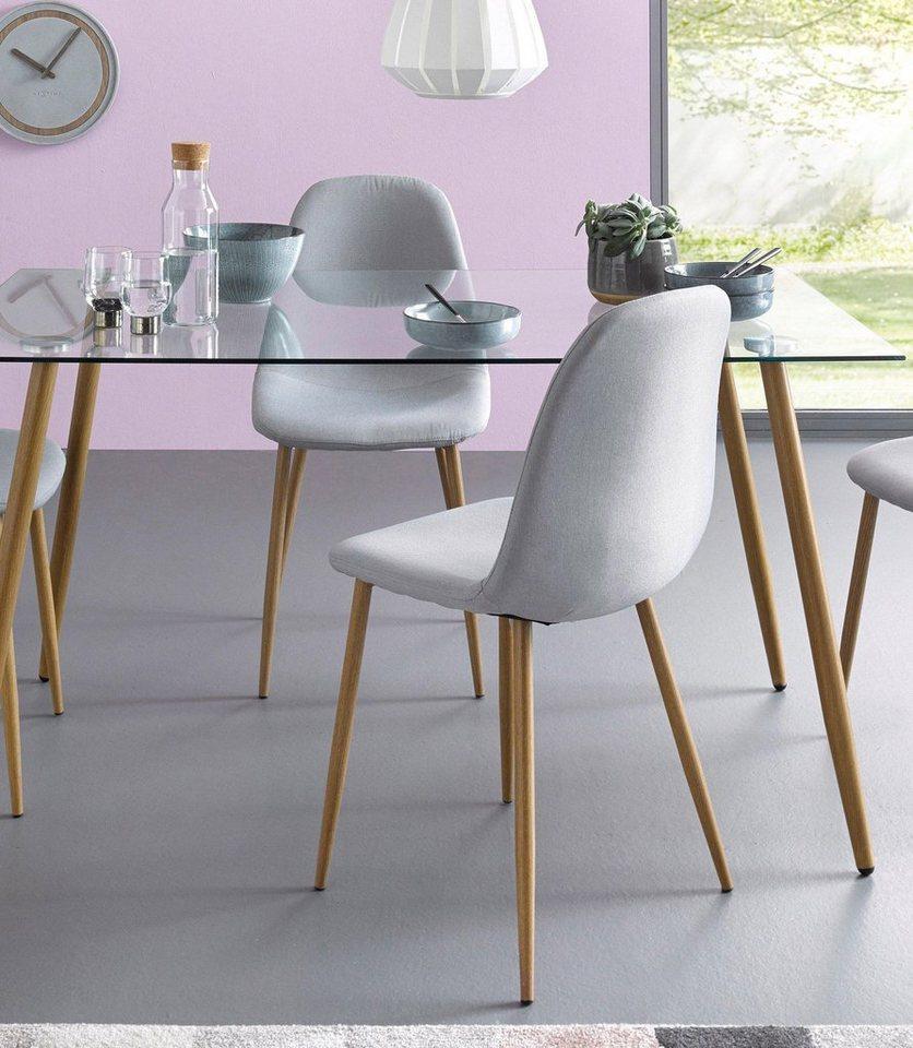 st hle webstoff 2er oder 4er set online kaufen otto. Black Bedroom Furniture Sets. Home Design Ideas