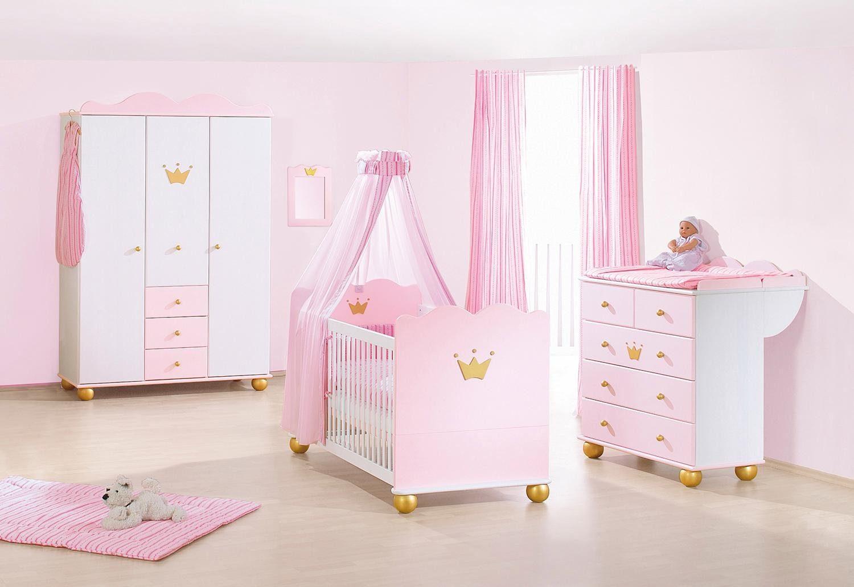Pinolino Babzimmer-Set (3-tlg.), Kinderzimmer, »Prinzessin Karolin, groß«