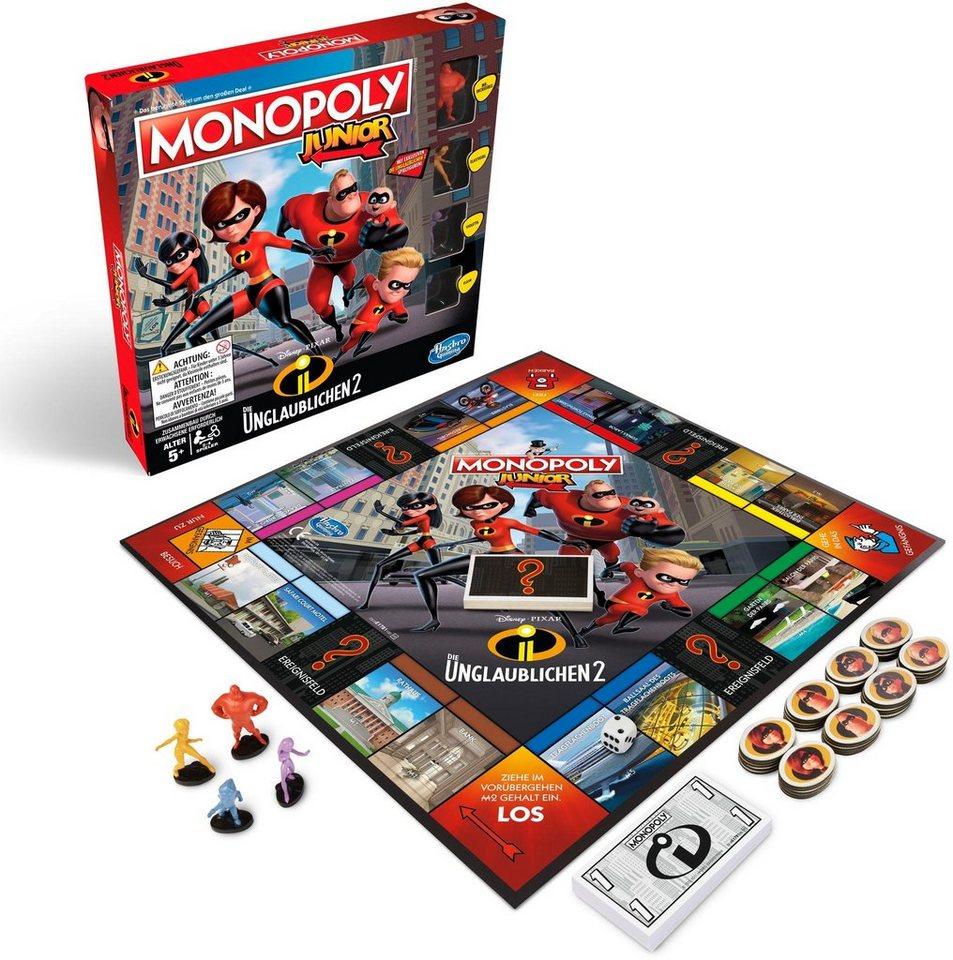 Hasbro Kinderspiel,  Monopoly Junior - Die Unglaublichen  online kaufen