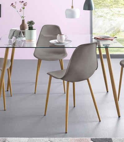 Stühle, Kunststoffschale (2 Oder 4 Stück)